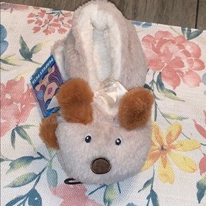 NWT Doggy slippers L/XL